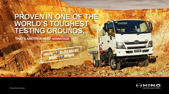 INTRODUCING THE HINO 300 SERIES 817 4X4
